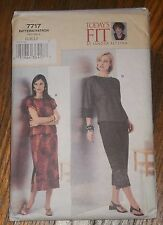 Vogue 7717  Womens Misses Petite Top Pants Skirt Sandra Betzina Pattern Sz G - J