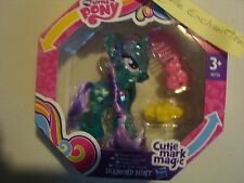 MON PETIT PONEY CUTIE MARK MAGIC DIAMOND MINT 8 CM  NEUF LITTLE PONY REF B0736