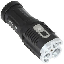 2800 Lumens 4 x XM-L2 U2-1A  Waterproof LED Power & Mode Digital Display Torch