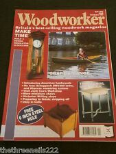 WOODWORKER - VIENNA REGULATOR CLOCKCASE -  APRIL 1995
