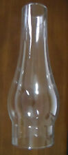 "3"" x 10"" Clear Glass Slim Oil Kerosene Lamp Chimney for #2 burners 3"" galleries"