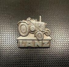 Lanz Spilla Alluminio Trattore 01 25x22mm avendo Tweer und Turck vecchio