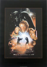 STAR WARS REPRO 2005 REVENGE OF THE SITH A3 FILM MOVIE POSTER a . NOT DVD