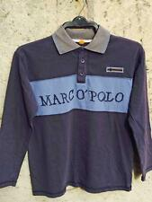 Marco Polo Long Sleeve Polo Shirt Cotton T-Shirt Top Age 12 Years [152]