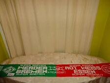 """Werder Bremen/Rot Weiss Essen Fan Freundschaft Schal """"IN FREUNDSCHAFT"""" TOP"""