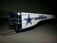 NFL Dallas Cowboys safety glasses clear lens blue frames 100% Osha approved