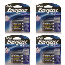 16 AAA Energizer L92BP Ultimate Lithium Batteries, Retail Packing exp 2025