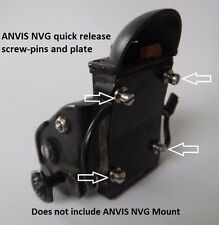 ANVIS NVG Quick Release Adapter Pin-Screws and Plate