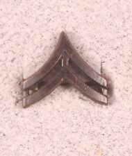 Enlisted Rank Pin:  Army Corporal - subdued, single pin back