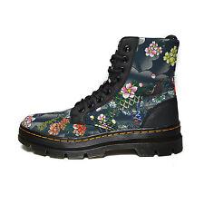 DR. MARTENS blu nevy stivali boots donna woman taglia EU 37 uk 4 137 b10A