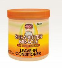 African Pride Shea Butter Miracle Moisture Intense Leave In Conditioner 15oz