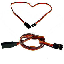 2x 200mm JR HITEC ACOMS servo extension leads - UK