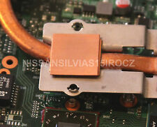 Toshiba Satellite L505 L505D Motherboard GPU Copper Shim Kit -Overheating Fix