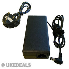 FOR SONY VAIO PCG-7134M 90w PCG-7183M LAPTOP POWER CHARGER + LEAD POWER CORD