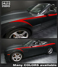 Chevrolet Camaro 2014 2015 Devil Tail Side Stripes Decals also fit 2010-2013
