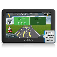 "Magellan Roadmate 5250T-LM 5"" Touchscreen GPS Navigation System & Lifetime Maps"