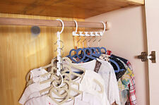 1 Pcs Space Saver Wonder Magic Clothes Hanger Rack Clothing Hook Organizer Set