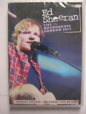 DVD  ED SHEERAN    LIVE IN ROUNDHOUSE   LONDON 2014        DVD