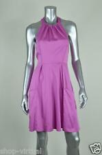 Jessica Simpson New Pink Halter Pleated A-line Casual Dress MSRP $98 Size 10