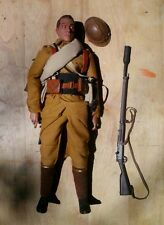 SIDESHOW 1/6 SCALE WWI FRENCH INFANTRYMAN R.M.L.E . BAYONETS & BARBED WIRE DID