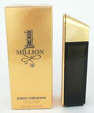 1 Million Cologne by Paco Rabanne, 3.4 oz EDT Spray for Men NEW