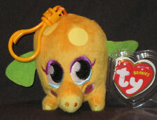 TY KEY CLIPS BEANIE BABY - MR. SNOODLE (MOSHI MONSTER) - MINT TAGS