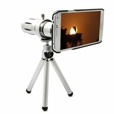 12X Zoom Telescope Camera Lens+Tripod +Back Case For Samsung Galaxy S5 i9600
