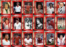 Liverpool 1981 Football League Cup final winners trading cards