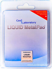 CoolLaboratory Liquid Metal Pad 20mm x 20mm For NVIDIA & ATI GPU Graphics Cards