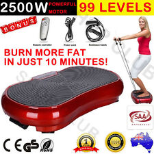 2500W 2017 Ultra Slim Vibration Machine Plate Platform Whole Body Shape Exercise