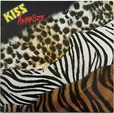 Kiss - Animalize LP  1984  Casablanca  822 495-1