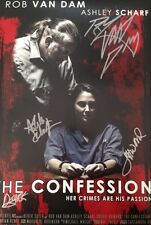 "SIGNED ROB VAN DAM ""THE CONFESSION"" 10x15 MOVIE POSTER"