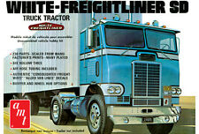 AMT White Freightliner SD Single Drive Truck Model Car Mountain 1/25 IN STOCK!