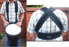 DRUM HARNESS for Djembe / Samba, Heavy Duty, High Quality Strap by Tribal Drums