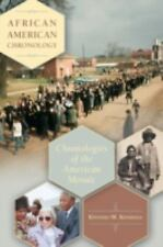 African American Chronology: Chronologies of the American Mosaic-ExLibrary