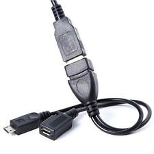 ON the Go OTG Cable Lead For Pad Tablet Mobile Phone Ect Micro Usb to Female PG