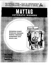 Repair Manual: Maytag A100/200/300/400/500/700/900 washers