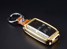 Zinc Alloy Land Rover Range Discovery Evoque key cover case shell remote GOLD