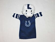 Indianapolis Colts NFL Football 'BLUE The Mascot' Plush Hand Puppet CUTE! RARE!
