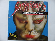 "MAXI 12"" SATYRICONE Les enfants d Aphrodite 159960 6 SYNTH POP"