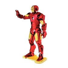 Iron man: metal earth 3D laser cut miniature marvel avengers modèle kit 3 feuilles