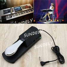 Keyboard/Digital Piano Damper/Sustain Foot Pedal for Yamaha Casio Roland Korg