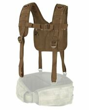 CONDOR MOLLE Modular Nylon 215-498  H-Harness Suspenders for Battle Belt BROWN