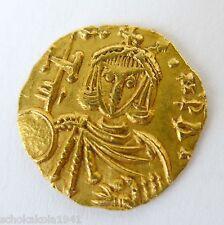 GOLD Byzanz Leo III (717-741) Semissis Syrakus Büste frontal