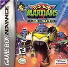 GAME BOY ADVANCE BUTT-UGLY MARTIANS B.K.M. BATTLES 100% W/ BOX & BOOKLET