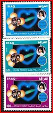 IRAQ 1989 FAMILY SC#1412-14 MNH