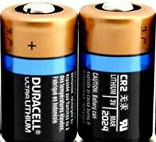 (Pack of 2)  Duracell Ultra CR2 Photo Lithium 3V Batteries EXP 2024