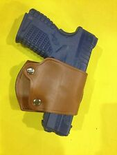 Leather YAQUI Style Holster -  Springfield XDS  (#047 BRN)