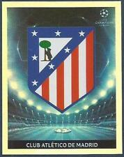 PANINI UEFA CHAMPIONS LEAGUE 2009-10- #243-ATLETICO MADRID TEAM BADGE-FOIL