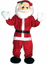 Giant Christmas Santa Claus Team Mascot Fancy Dress Charity Sports Event Costume